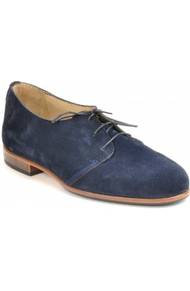 Georges blue suede