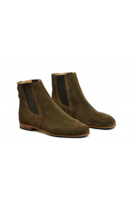 Berlioz taupe suede