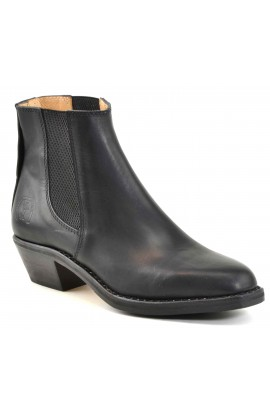 Bartholo black calf black sole