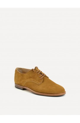 Derby Paris squirrel suede
