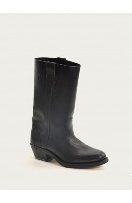 Gardiolo black fat full leather of calf