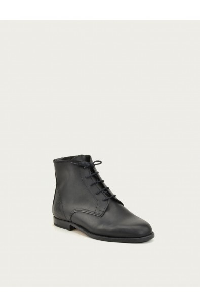 Jules black calf leather