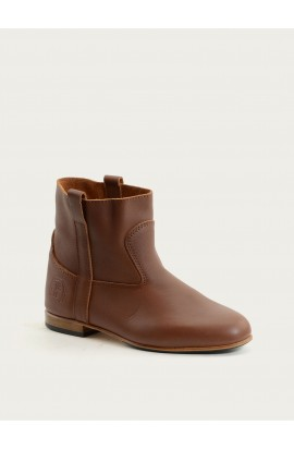 Elsa-Elliott cognac calf supple