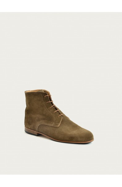 Albert taupe suede