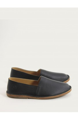 Sneaker, Maurice black soft leather