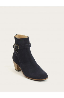 Jaipur navy blue calf suede