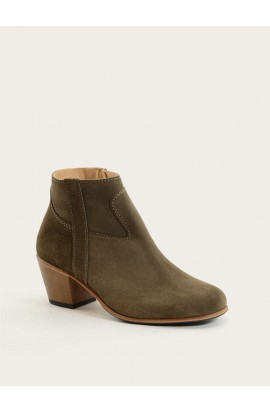 Gil taupe suede