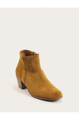 Gil (doubled) calf suede squirrel
