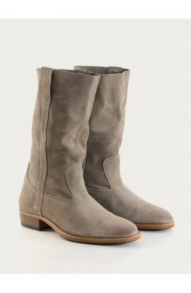 Gardian Paris gray calf suede