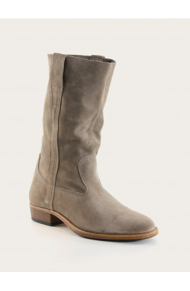 Gardian Paris grey calf suede