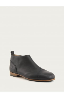 Armelle black calf supple