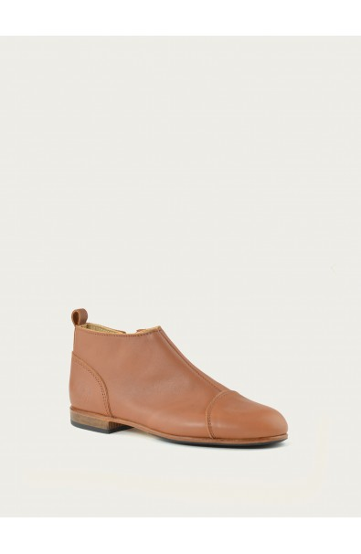 Leather Shoes Armelle Natural Supple Calf