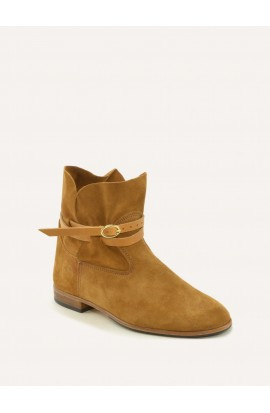 Chelby squirrel calf suede