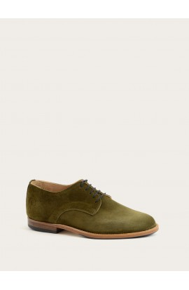Derby Paris velours olive