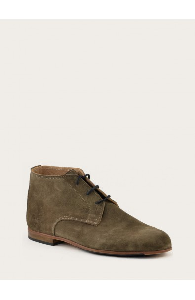 Martin taupe suede