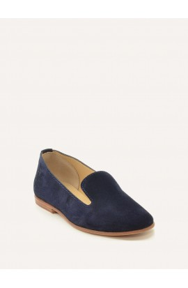 Opale navy suede