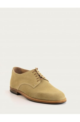 Derby Paris beige suede
