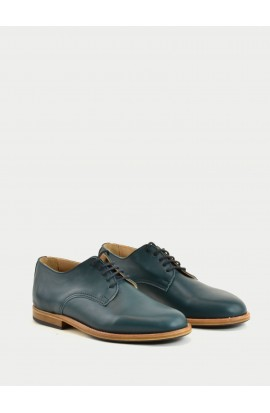 Derby Paris imperial green calf supple