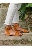 Maguy Ebony vegetable tanned leather
