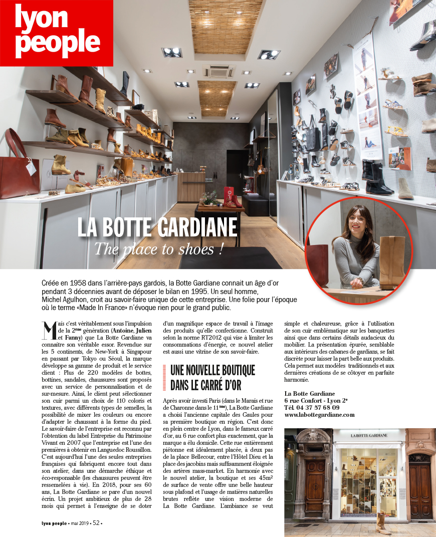 Lyon People's Magazine - La Botte Gardiane Lyon
