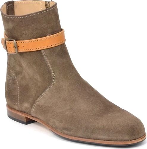 Poppins veau velours taupe D09
