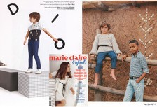 Marie Claire Enfants SS 2016 - Camargue kid white leather and belts