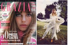 Grazia December 2016 - Tiers-Western natural calf and sheep
