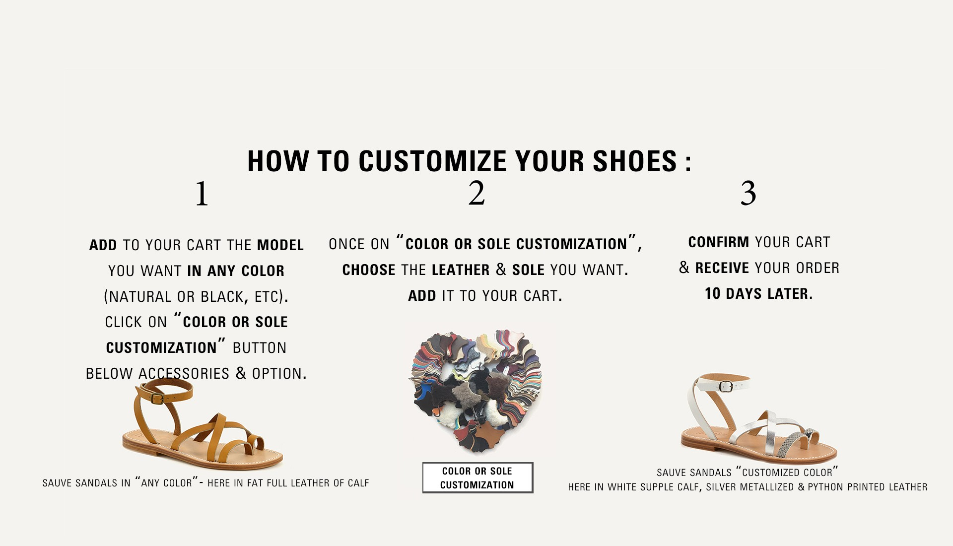 Customize your shoes !