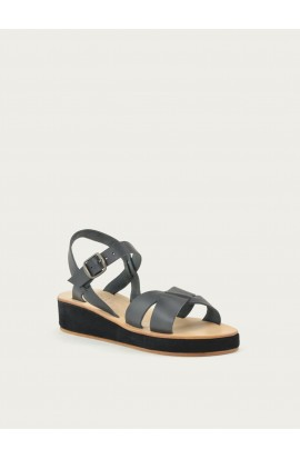 Leather wedges La Botte Gardiane