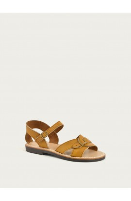 Woman leather sandal, La Botte Gardiane