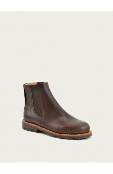 Boots coffee calf leather
