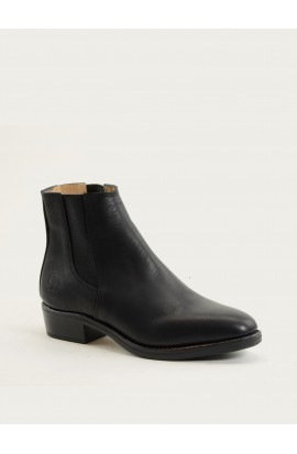 Béline black calf black outsole