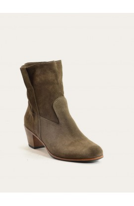 Woman leather Low boots