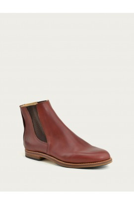 Bertrand bordeaux calf