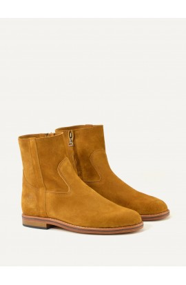 Camille squirrel suede
