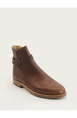 Jodhpur brown fat full leather of calf