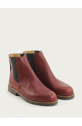 Boots bordeaux calf