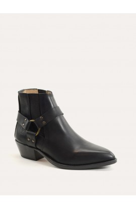 Boots tiag Paris black with rings