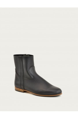 Elie black calf supple