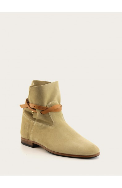 Chelby beige suede
