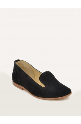 Opale charcoal suede