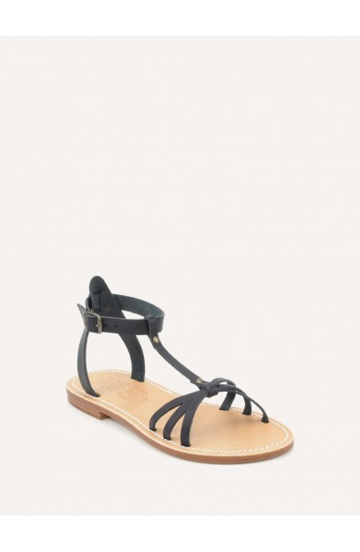 Nation leather sandals made in france