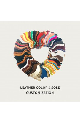 Leather color & sole customization