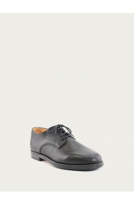 Derby black calf