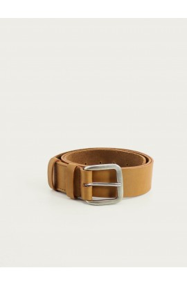 Natural leather belt 35mm