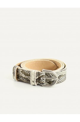 Imitation python leather belt 25mm