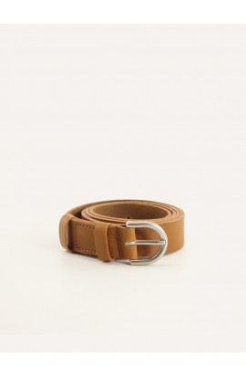 Natural leather belt 25mm