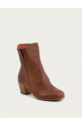 Céleste cognac calf supple